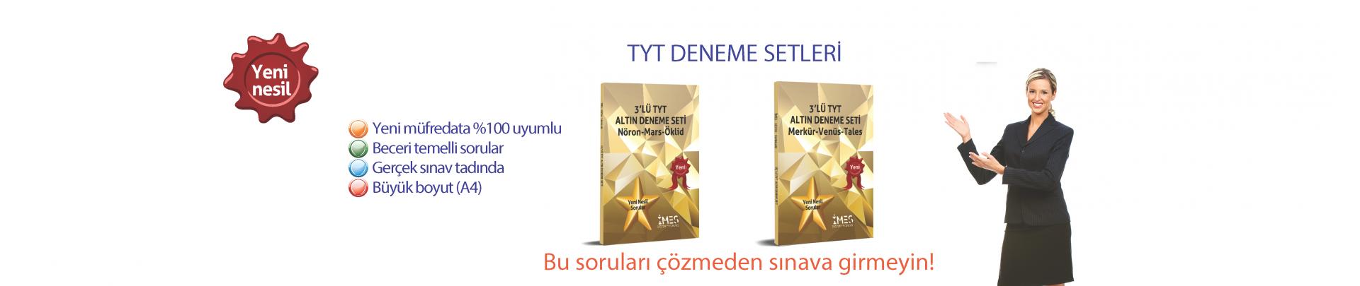 TYT DENEME SETLERİ